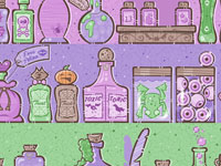 Poisons and Potions by Casper Spell