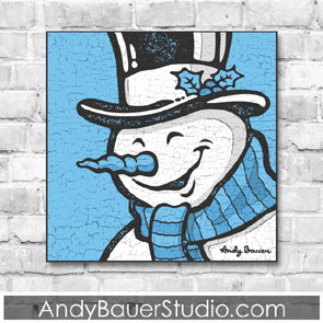 Snowman by Andy Bauer
