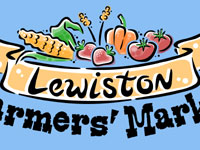 Lewiston Farmers' Market Logo by Andy Bauer
