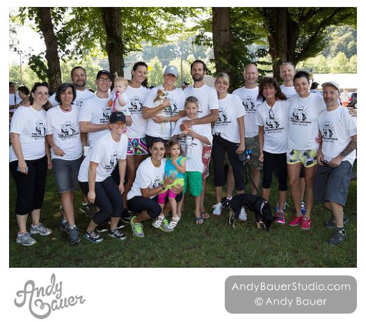 Portland Brain Tumor Walk - The Tumornators - Art by Andy Bauer