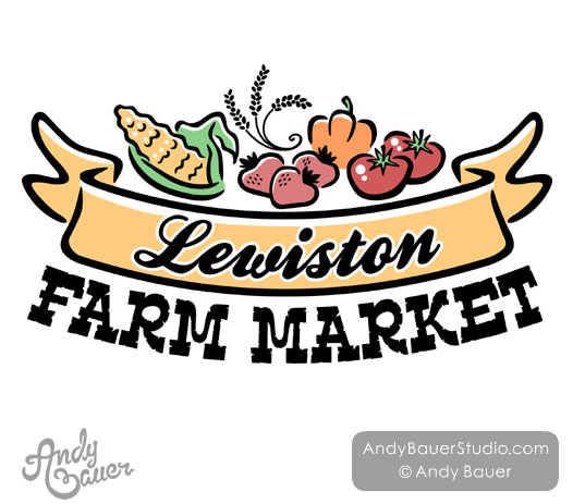 Lewiston Farm Market Logo Andy Bauer