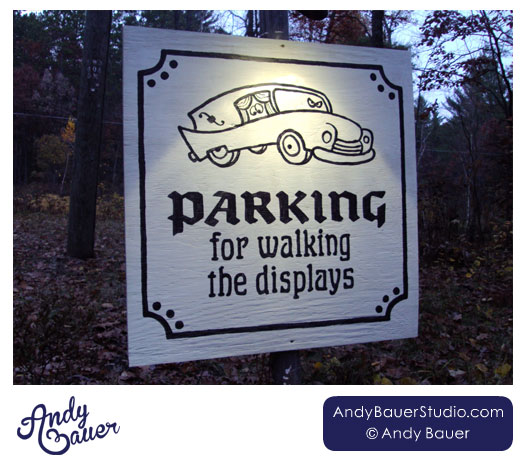 Drive-Thru Haunt Parking by Andy Bauer