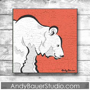 Bear Fine Art Print by Andy Bauer
