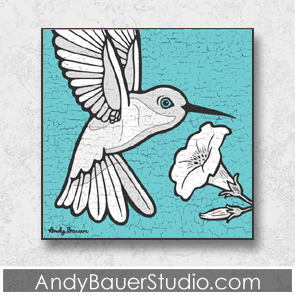 Hummingbird Fine Art Andy Bauer