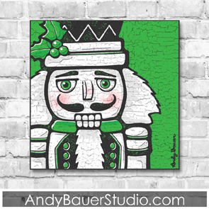Nutcracker Fine Art Print Andy Bauer Illustration