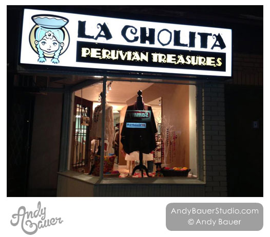 La Cholita Peruvian Treasures by Andy Bauer