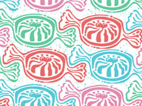 Peppermint Suface Patterns Art Licensing Andy Bauer