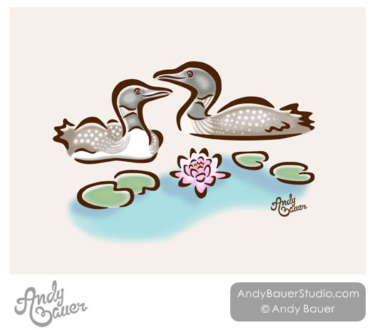 Loons Art Licensing Andy Bauer