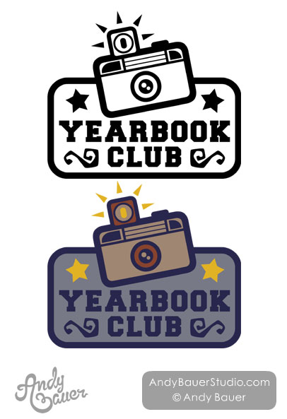Yearbook Club Vintage Camera Andy Bauer
