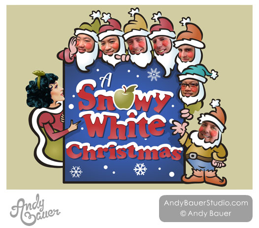 MenAlive A Snowy White Christmas Andy Bauer