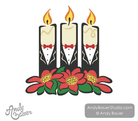 Candlelight Vespers Candle Tuxedo Gay Chorus Choir