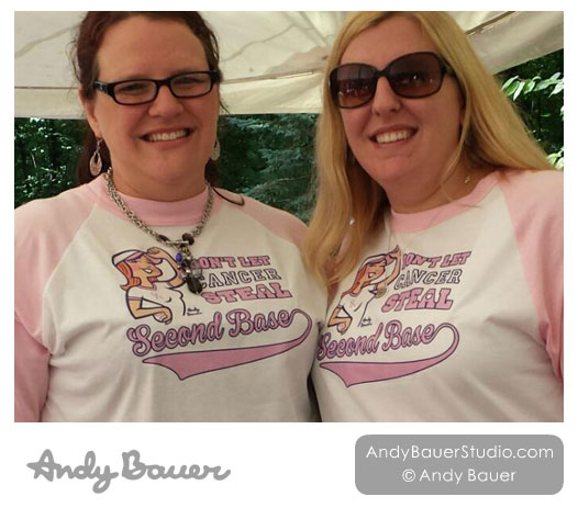 Don't Let Breast Cancer Steal Second Base by Andy Bauer