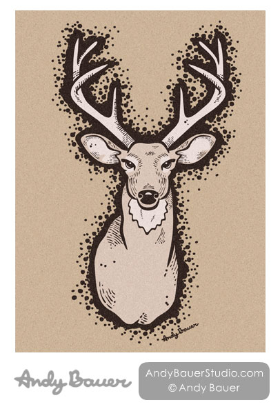 Pure Line Greeting Card Design by Andy Bauer