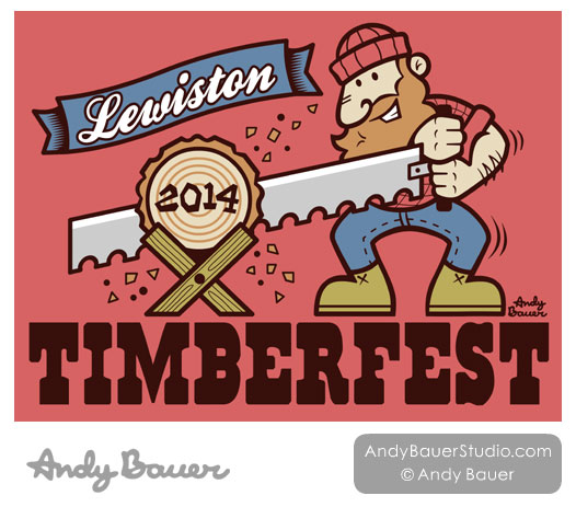 Lewiston Timberfest by Andy Bauer