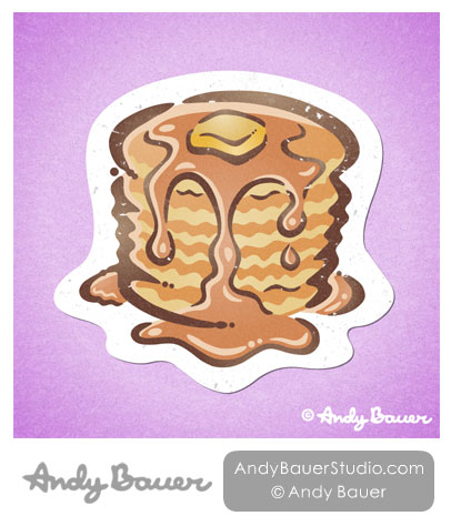 Pancakes Print Andy Bauer