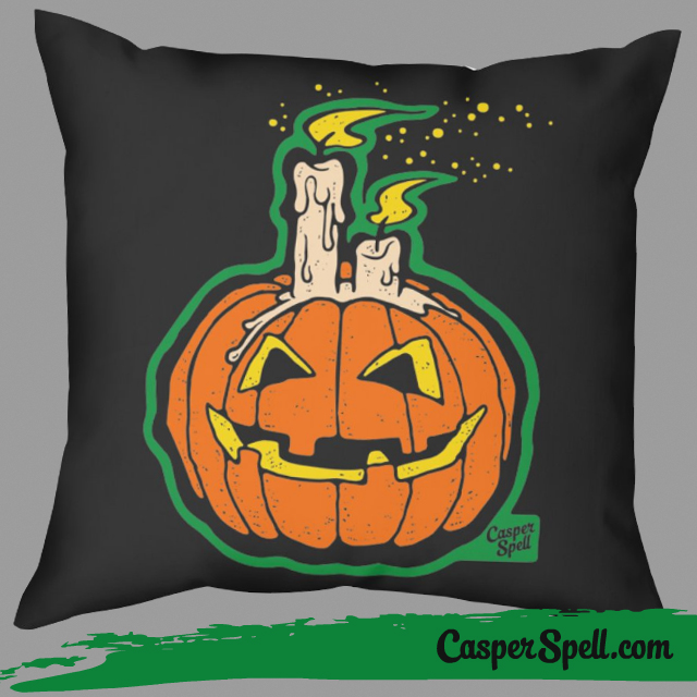 Retro Vintage Halloween Bags Pillows Bag Pillow Decor Casper Spell