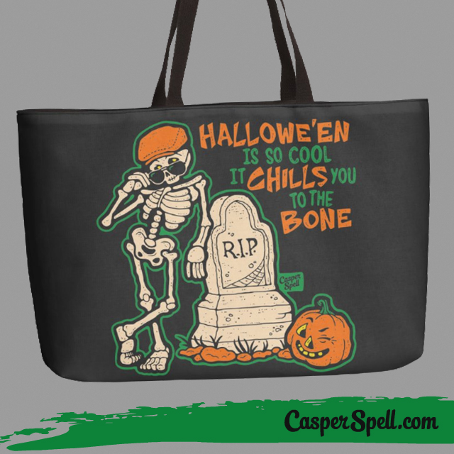 Ironic Hipster Halloween Hocus Pocus bag Fashion Spooky Gothic Style Casper Spell