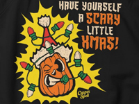 Scary Little Christmas Xmas Art Apparel Shirt Threadless Casper Spell
