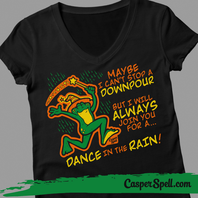 Witch Ladies Vneck Shirts Witches Magic Spells Potions Toads Frogs Threadless Halloween Casper Spell
