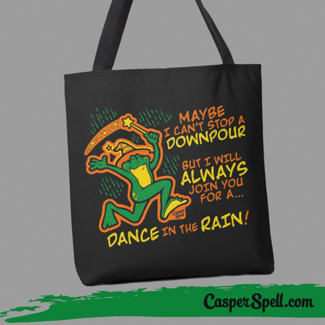 Witch Inspirational Gifts Bag Bags Purses Purse Frogs Toad Magic Magick Casper Spell
